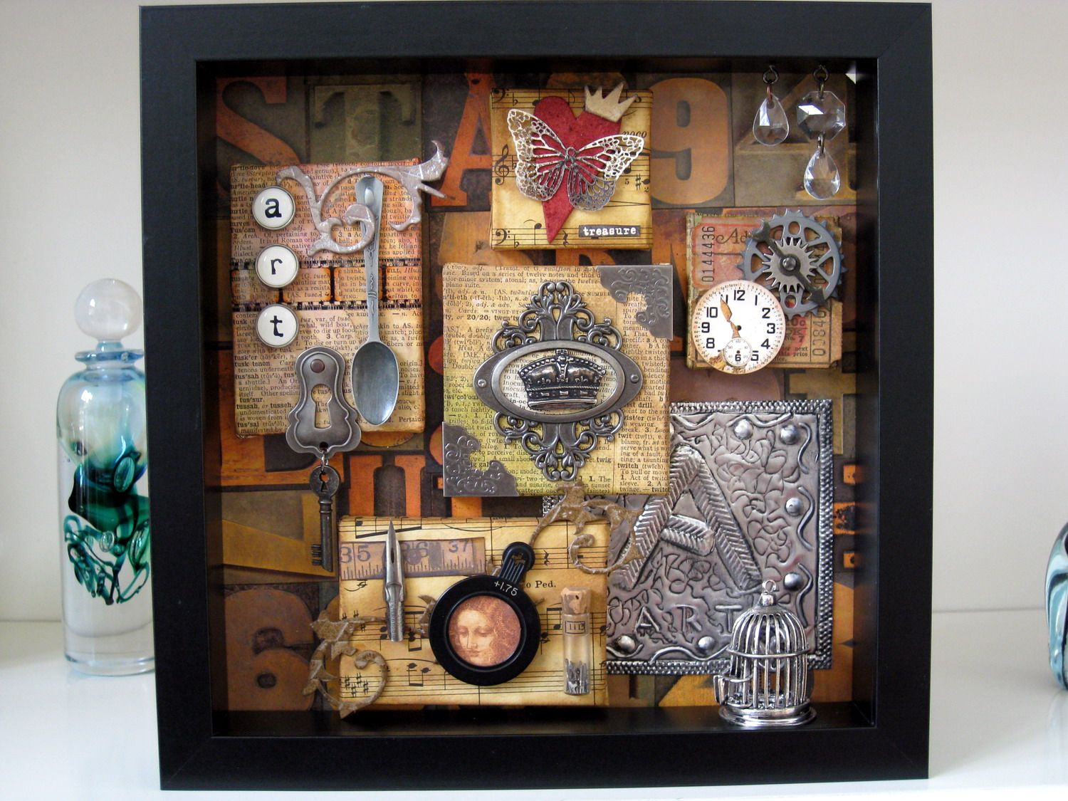 Best Shadow Box Ideas Pictures, Decor, and Remodel | Pinterest