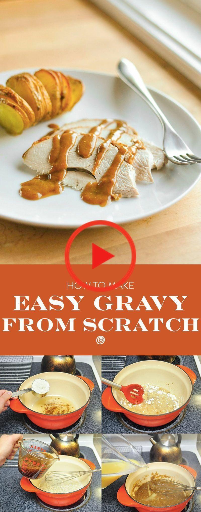How To Make Turkey Gravy #turkeygravyfromdrippingseasy How To Make Brown or White Gravy From #turkeygravyfromdrippingseasy