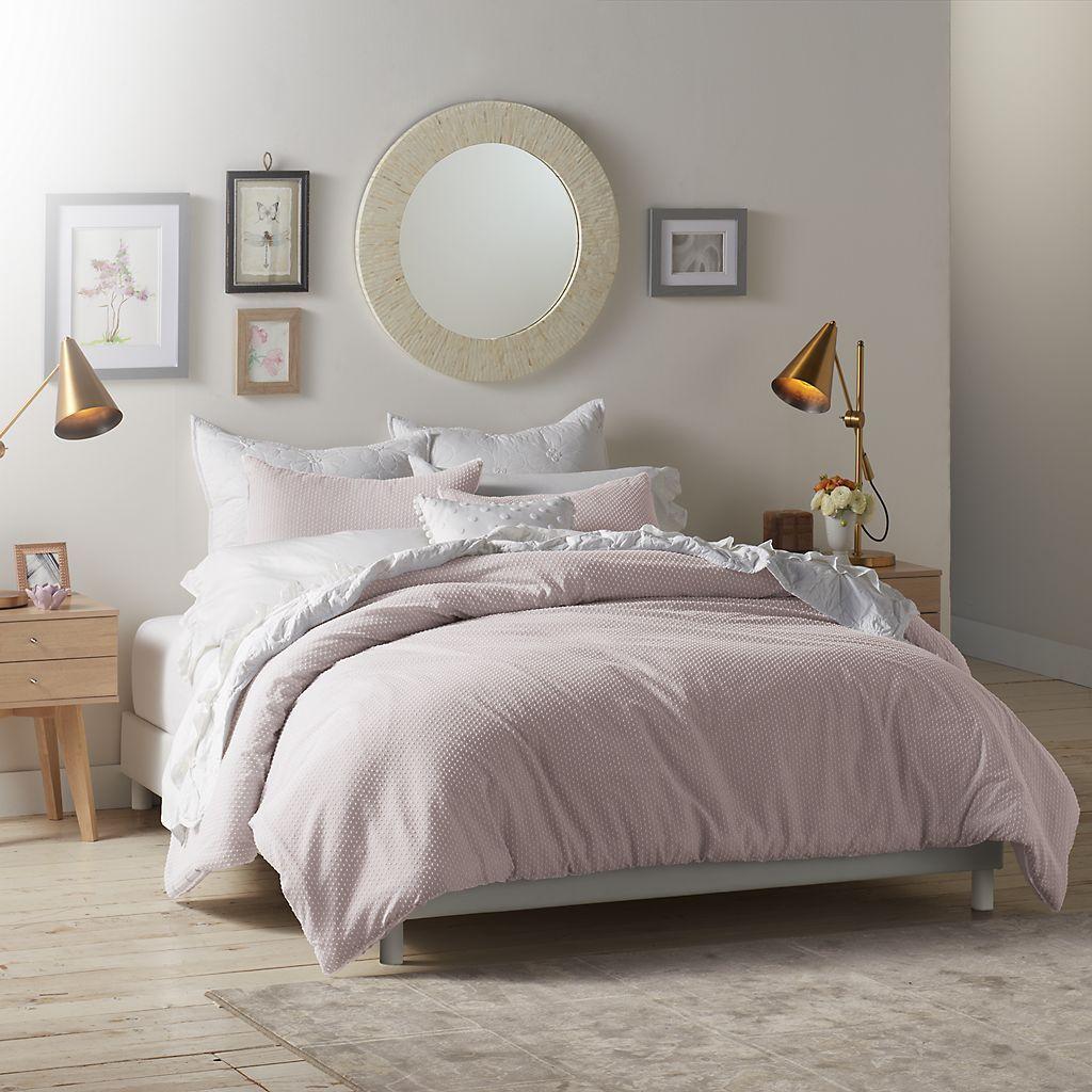 Lc Lauren Conrad Swiss Dot Comforter Set Comforter Sets