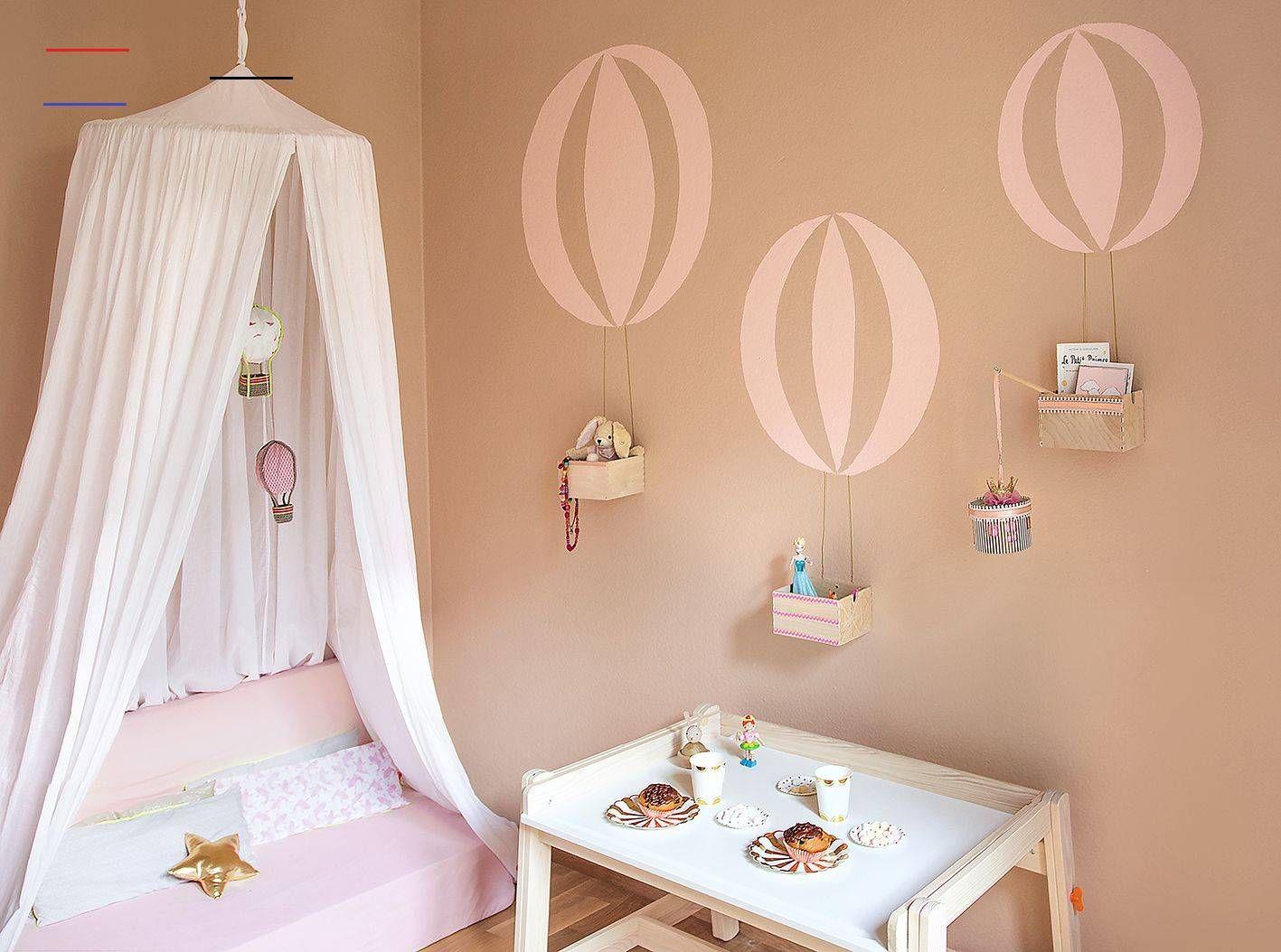 Mädchenzimmer Wand