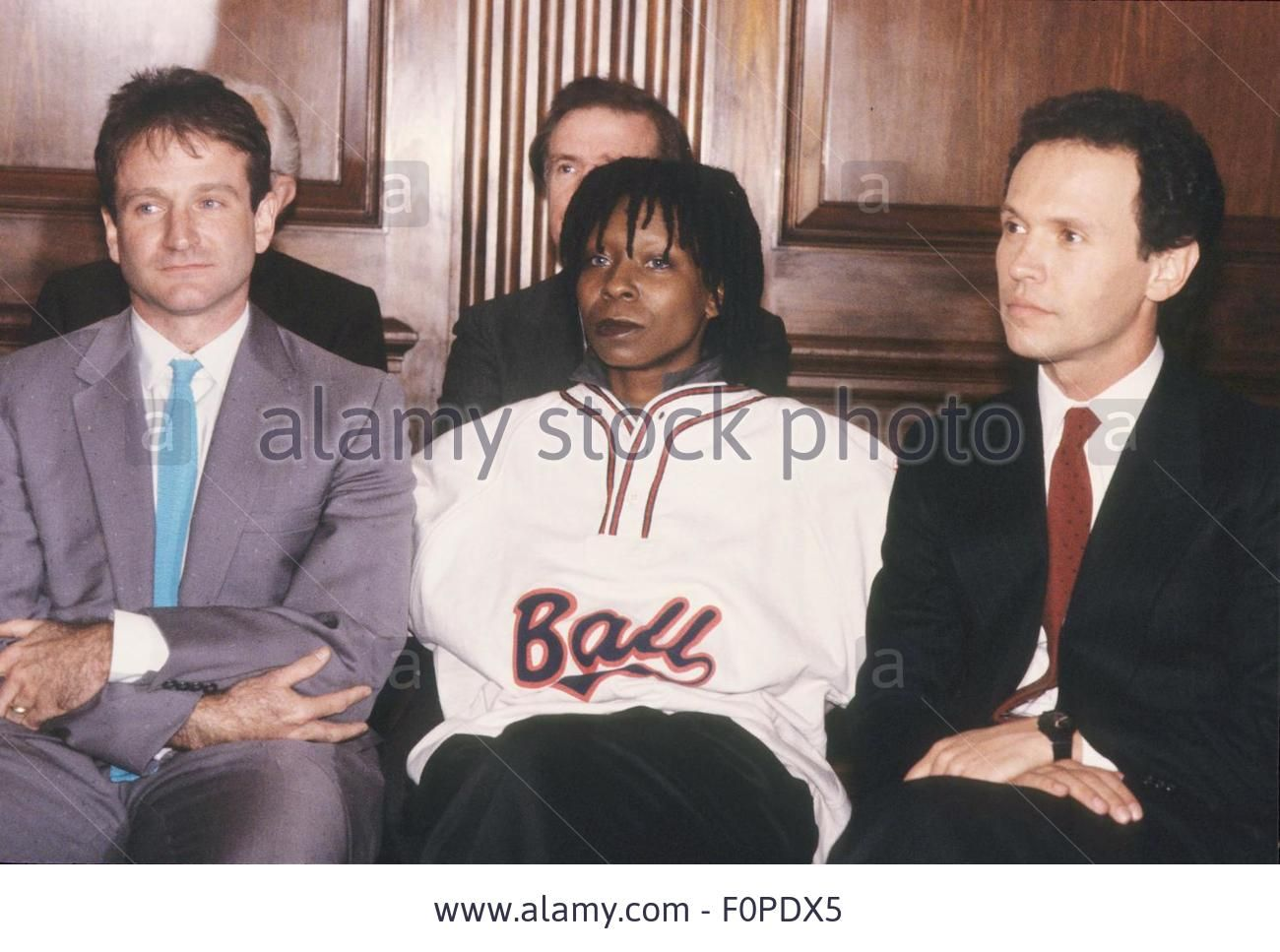 ROBIN WILLIAMS with Whoopi Goldberg and Billy Crystal at Comic Relief 1986.13978. (Credit Image: © James Colburn/Globe Photos via ZUMA Wire via ZUMA Wire) Stock Photo