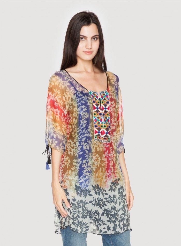 Anna May Rainbow Dress Multi