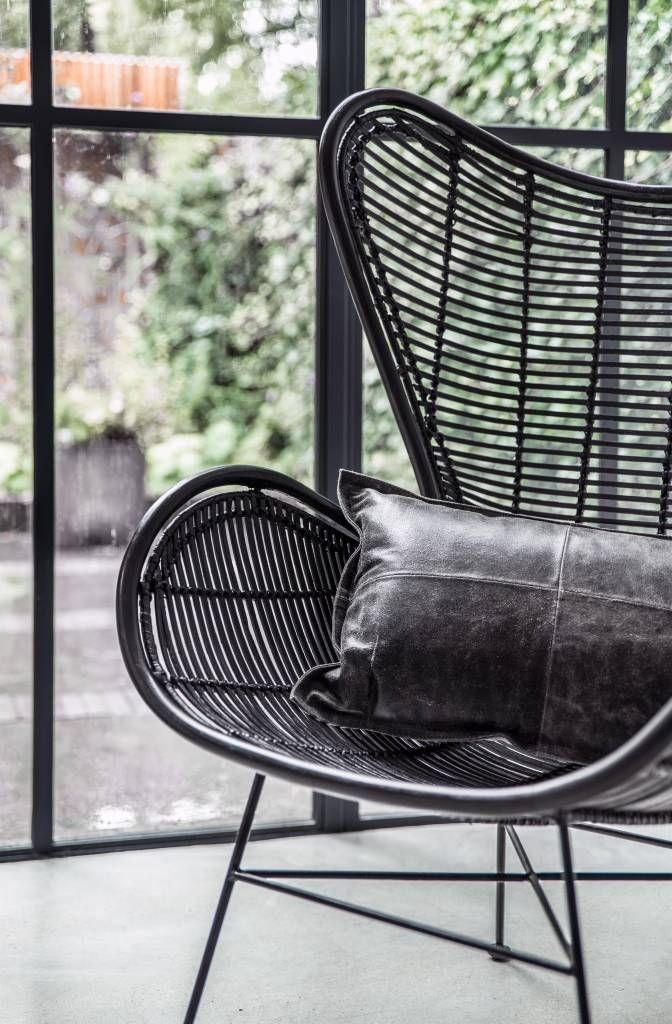 Hoe Tof Is Dit Een Rotan Egg Chair Van Hk Living De Andere Variant