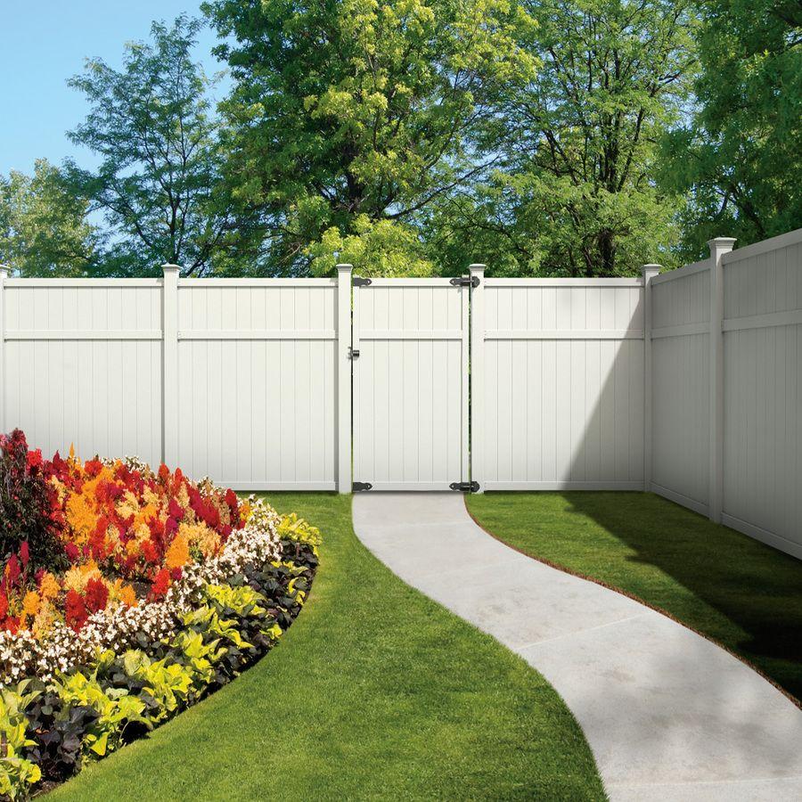 white fence ideas. Shop Freedom (Actual. Vinyl Fence PanelsWhite White Ideas