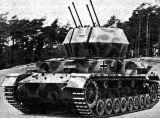 Germany S Flakpanzer Iv 2cm Auf Fgst Pz Iv 3 Wirbelwind Tanks Military Wwii Vehicles German Tanks