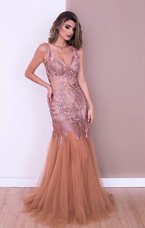 a54cce05c6 Dress by Tugore · Vestido Longo ...