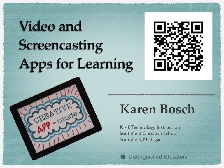 Screencasting Your Netslcsd Educational Technology Resources