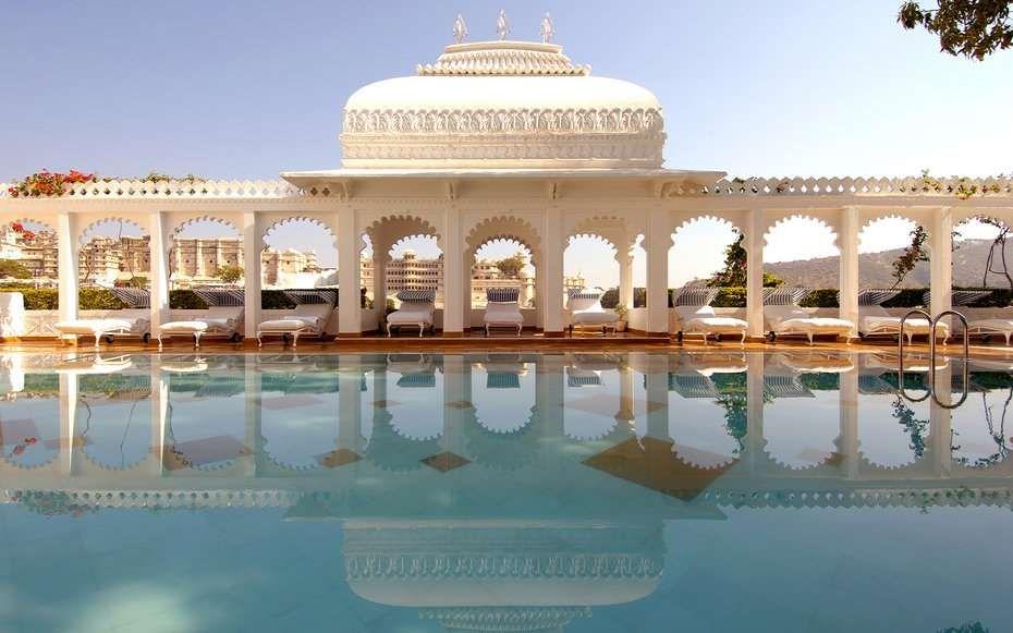Score: 94.56More information, tajhotels.com - Courtesy of Taj Lake Palace