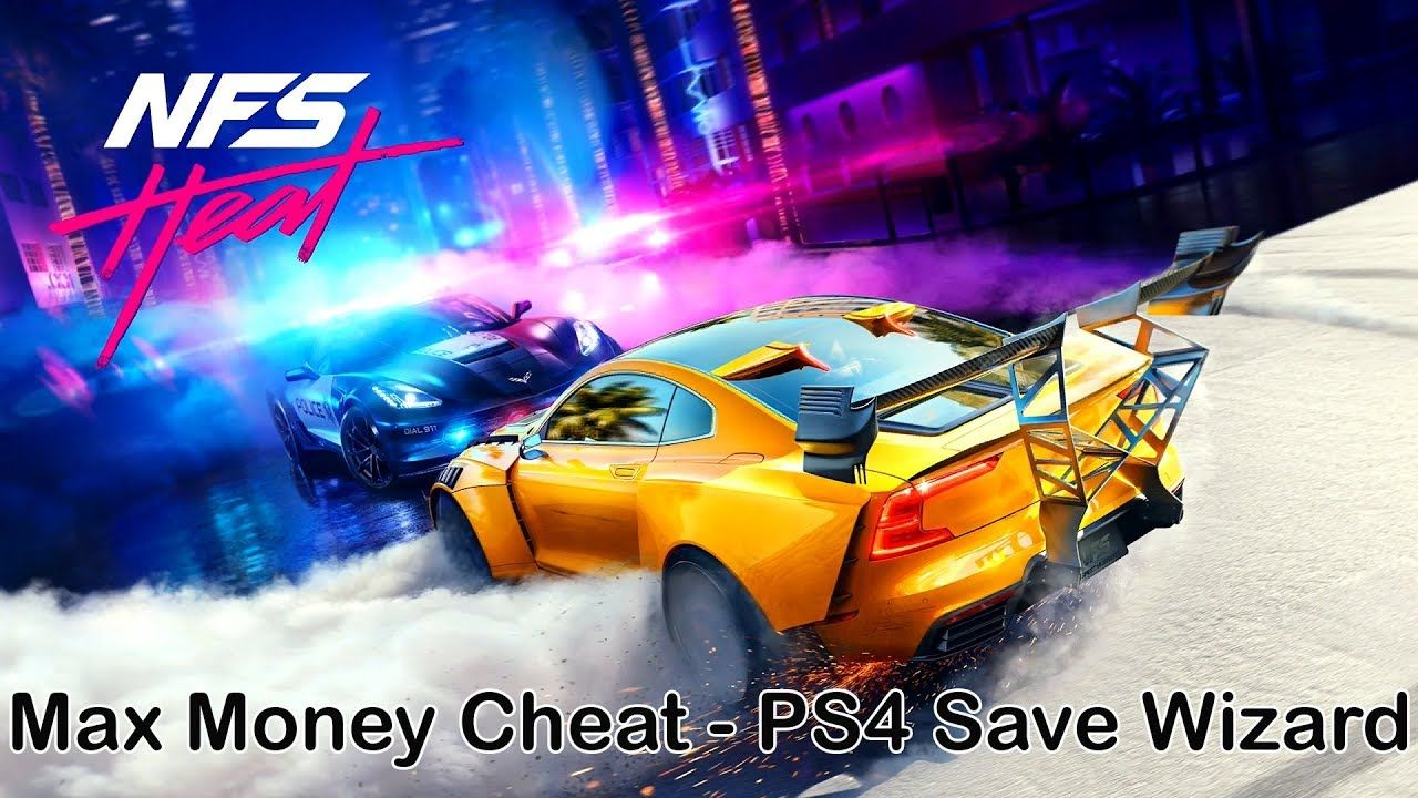 Nfs heat max money cheat ps4 save wizard need for