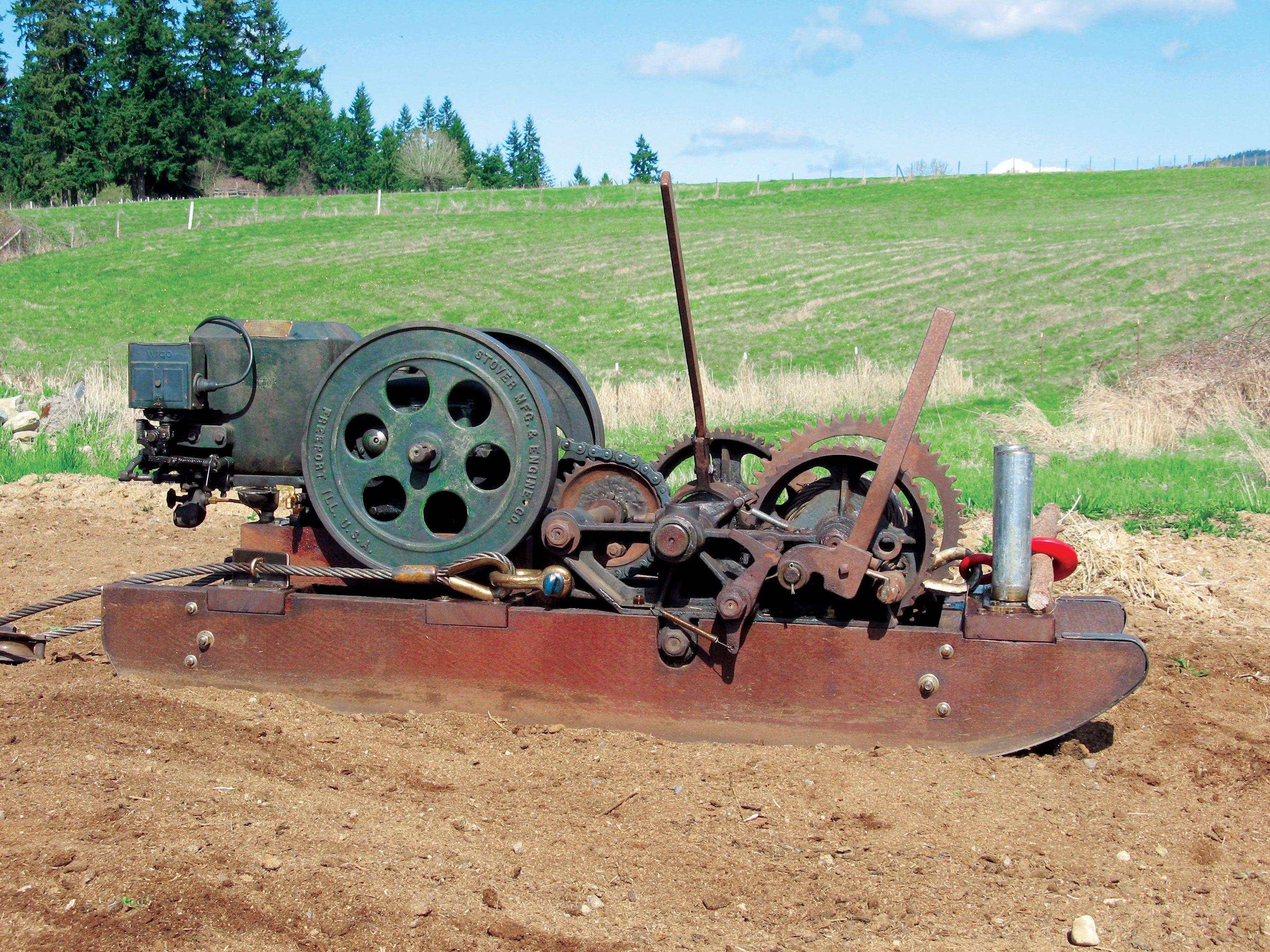 Irresistible Easthope Stump Puller Gas Engines Gas