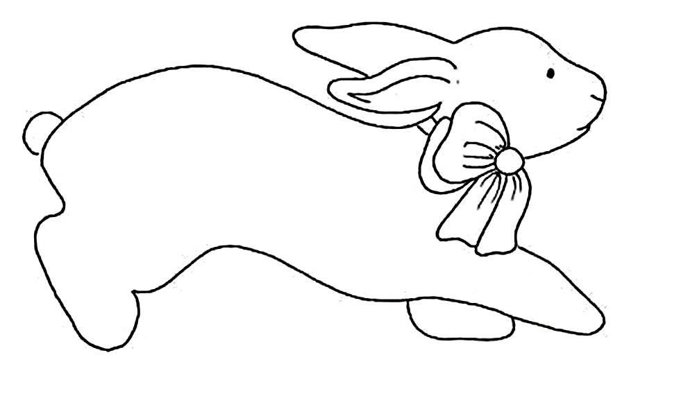 Contorno De Figuras 200 Desenhos De Coelhos Da Pascoa Para