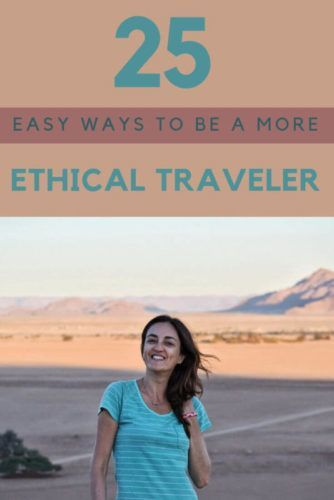 Being a responsible traveler is, now more than ever, a must. Read this post to discover 25 easy ways to embrace responsible travel and learn how to become a more ethical traveler | Sustainable travel | Sustainable tourism | Responsible tourism | #responsibletravel #greentravel #ecotravel via @clautavani