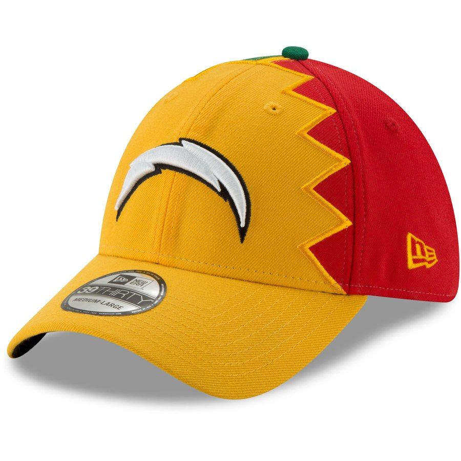 low priced b132f 4d63d Los Angeles Chargers New Era 2019 NFL Draft Spotlight 39THIRTY Flex Hat –  Gold, Your Price   31.99