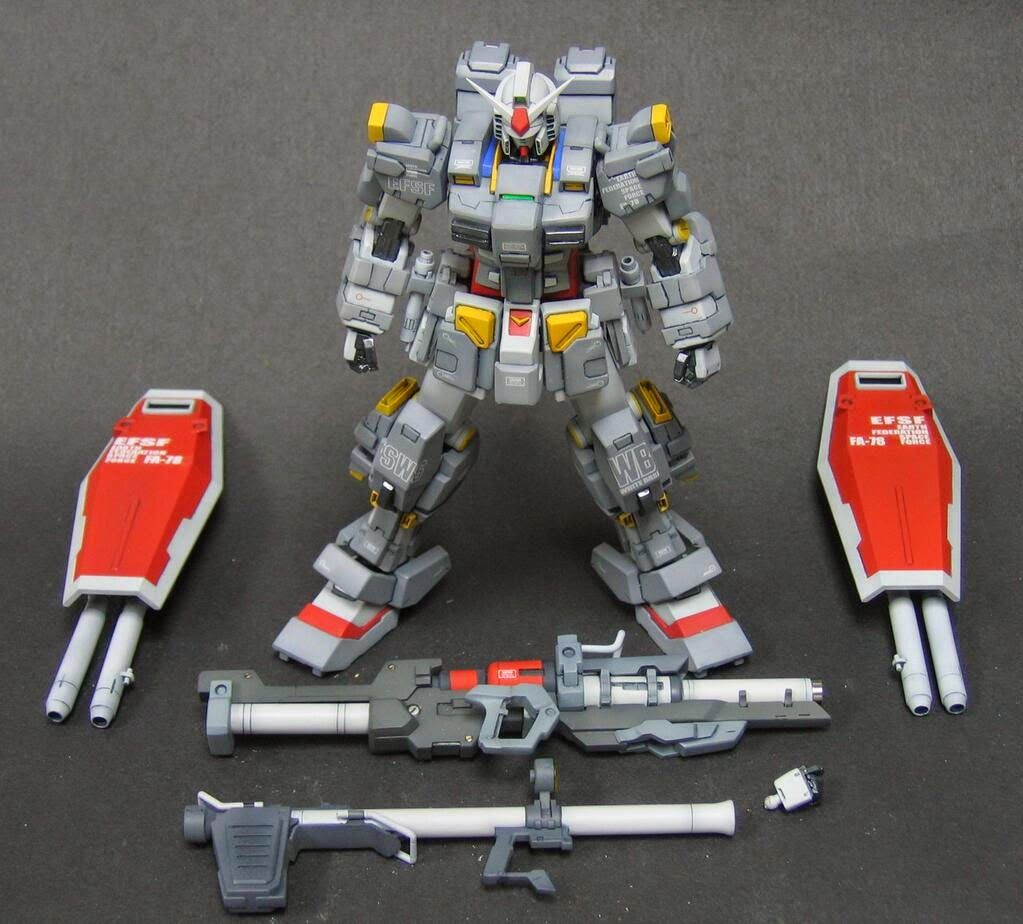 RX-78 Full Weapons Gundam - Custom Build