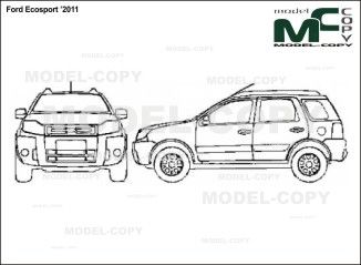Ford ecosport 2011 blueprints ai cdr cdw dwg dxf eps gif ford ecosport 2011 blueprints ai cdr cdw dwg dxf malvernweather Images