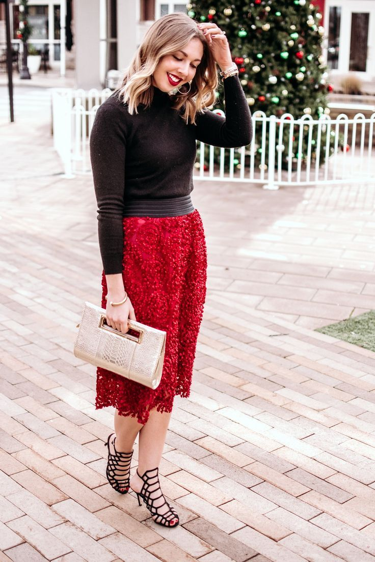 Holiday Party Outfit Idea - The Savvy Camel