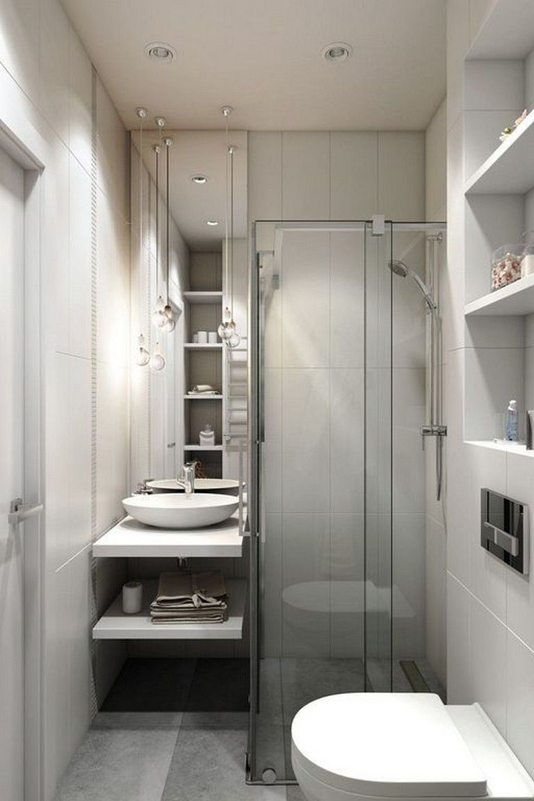 30 gorgeous bathroom decorating ideas with white color on bathroom renovation ideas white id=31290