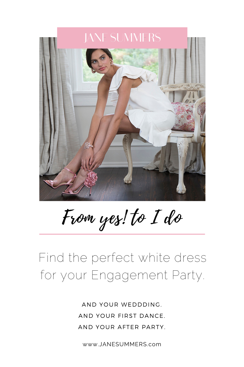 Say Yes To Unbelievably Gorgeous Wedding Reception Dresses & Unforgettable First Dance Dresses #dressesforengagementparty Looking for a head turning Engagement Party Dress? Shop Jane Summers and find iconic Little White Dresses, first dance dresses and after party dresses. #engagementpartydress #littlewhitedress #firstdancedress #partydress