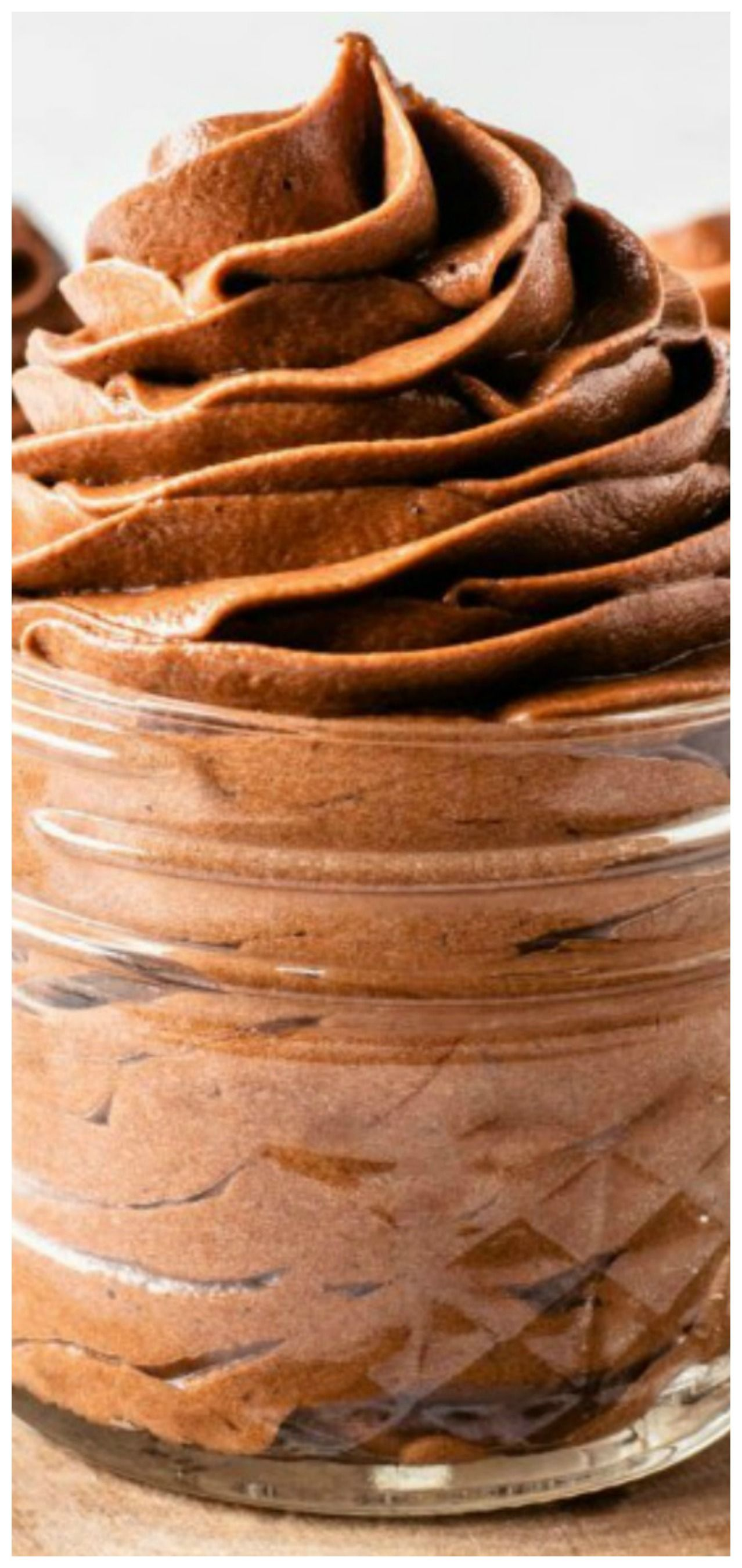Chocolate Nutella Frosting Recipe Desserts Cupcake Recipes Chocolate Desserts