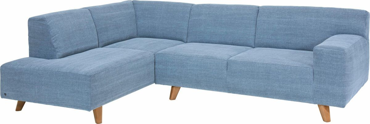 TOM TAILOR Ecksofa »NORDIC PURE« blau, Ottomane links Jetzt ...