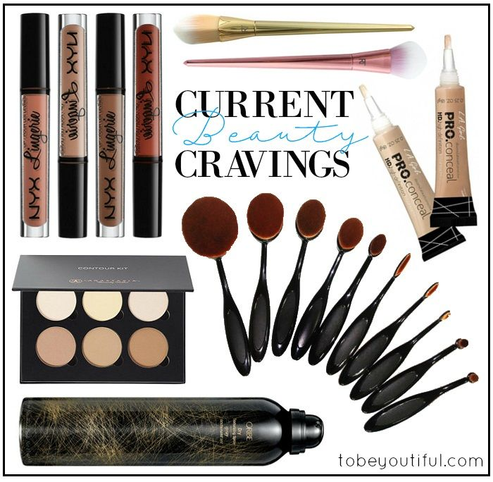 Tobeyoutiful beauty cravings NYX Lip Lingerie Oval Brushes Contour Kit