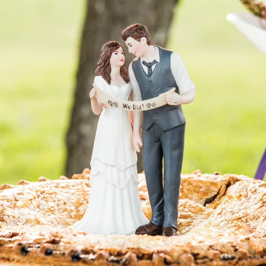 Indie Style Wedding Cake Topper - MyWedStyle.com | Wedding ...