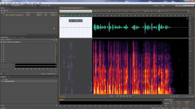 Want to remove unwanted noise from an audio clip? Follow