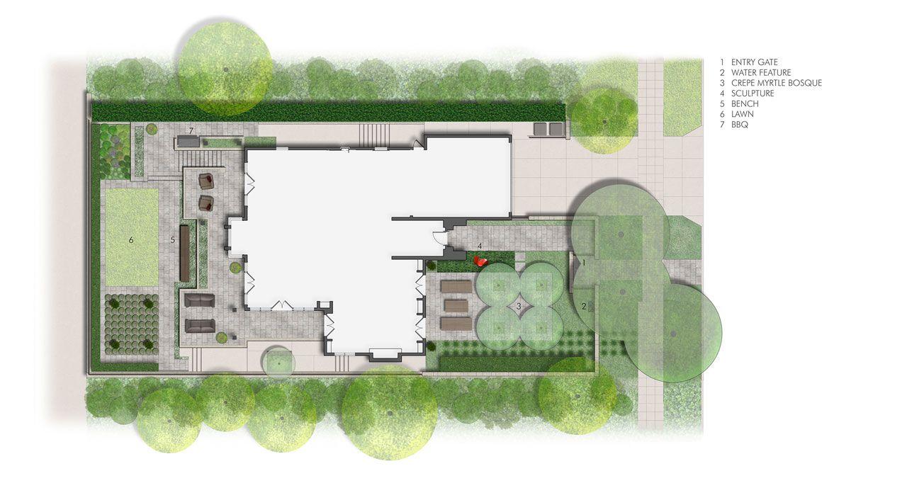 Urban Hill House Allworth Design Landscape Architects Raised Bed Garden Design Garden Furniture Design Garden Design