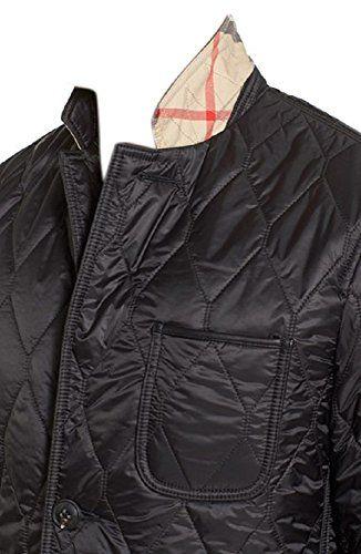 Burberry Brit Men S Gillington Black Quilted Jacket Burberry Brit Burberry Brit Men