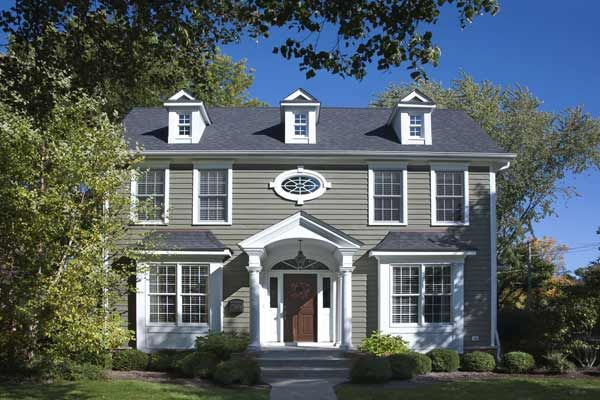 Paint Color Ideas For Colonial Revival Houses Wood Entry