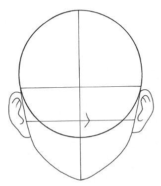 Anime Manga Head Outline 272486 Jpg 325 375 Pixels Art Drawings Sketches Pencil Anime Drawings For Beginners Sketchbook Art Journal