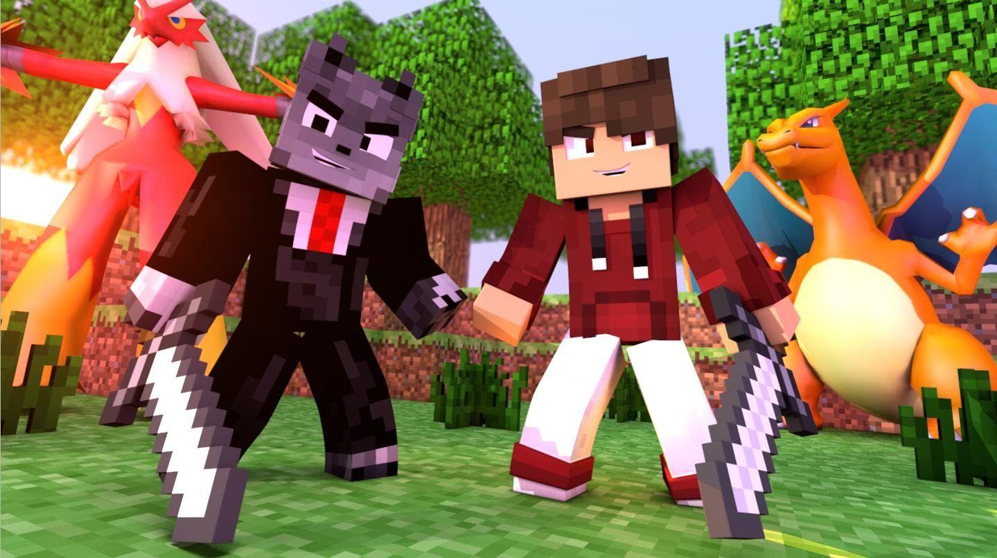 Minecraft: Liga 8 #11 - PRESENTE PRO LUGIN E NOVO POKEMON! - YouTube