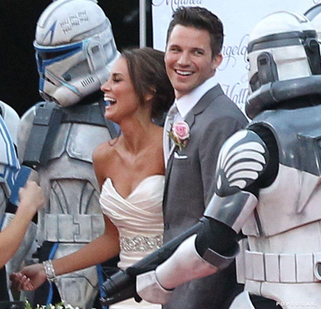 Matt Lanter Star Wars Wedding