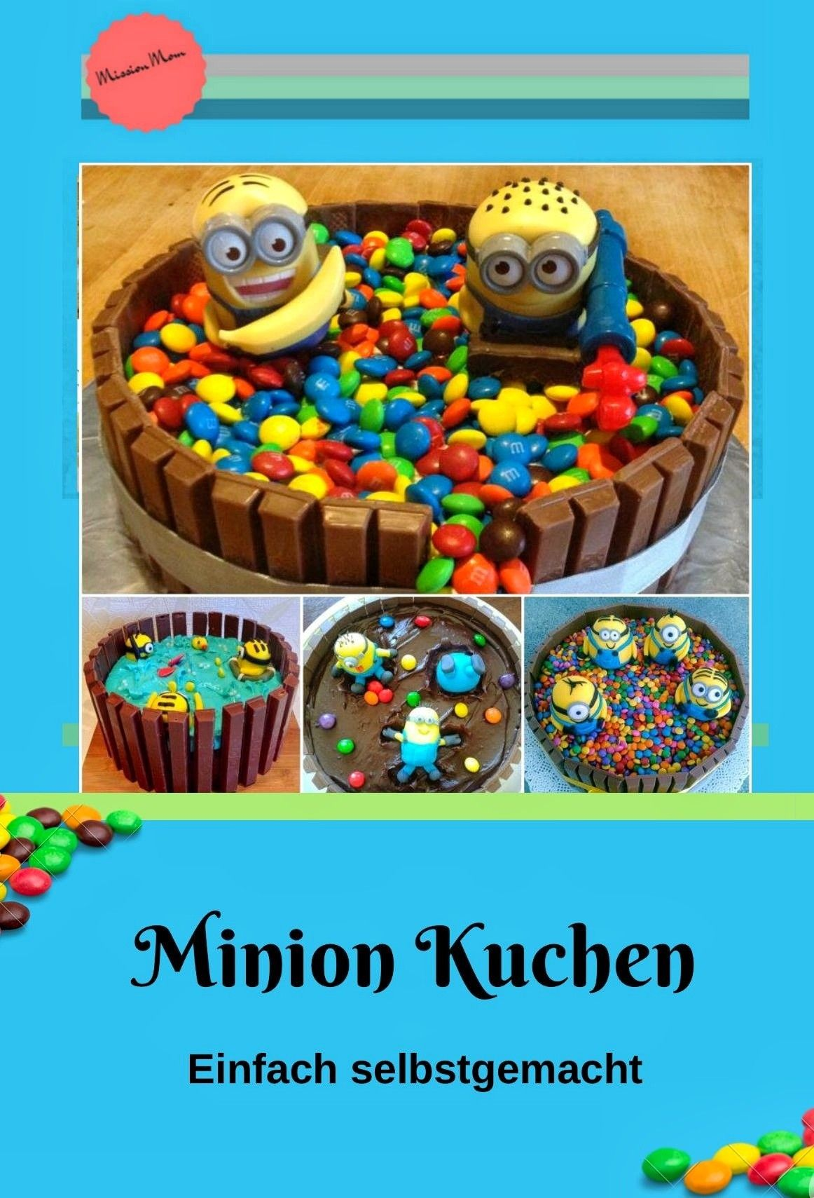 Minion Kuchen Backen Einfacher Minion Kuchen Backen So Gehts Blog Mission Mom