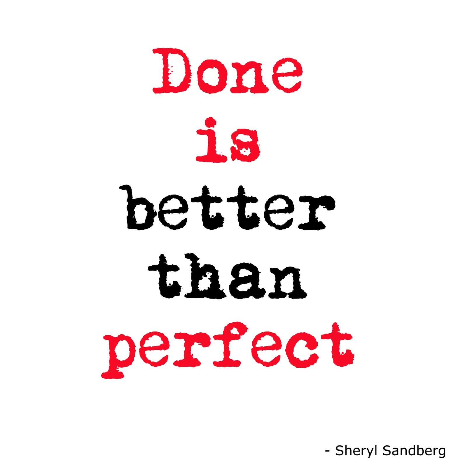 six0six design  this week  u0026quot done is better than perfect