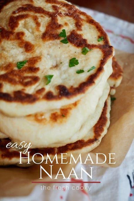 easy homemade naan | recept | baka | pinterest | recetas, comida och