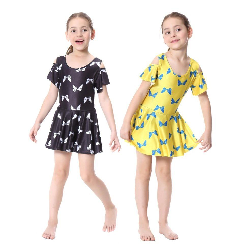 4ee520584c6c 2017 Modest Muslim Girls's Swimwear Children One Pieces Floral Printing Islamic  Swimsuit