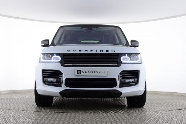 Used Land Rover Range Rover Sdv8 Autobiography Overfinch White For Sale Essex Yp16ngf Saxton 4x4 Used Range Rover Range Rover Land Rover