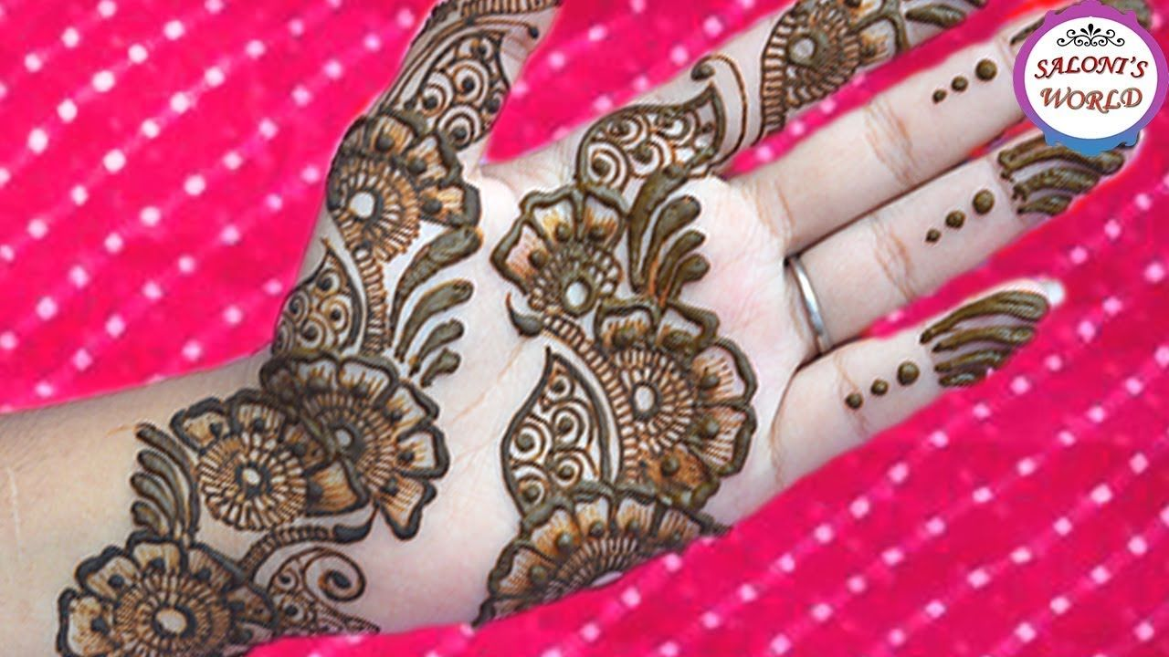 Mughlai Mehndi Designs – Our Top 40 Mughlai Henna Arts picture