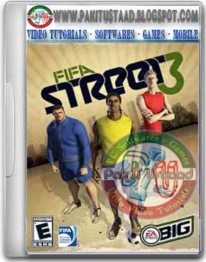 Fifa Street 3 Pc Game Cover Fifa Fifa Games Latest Video Games