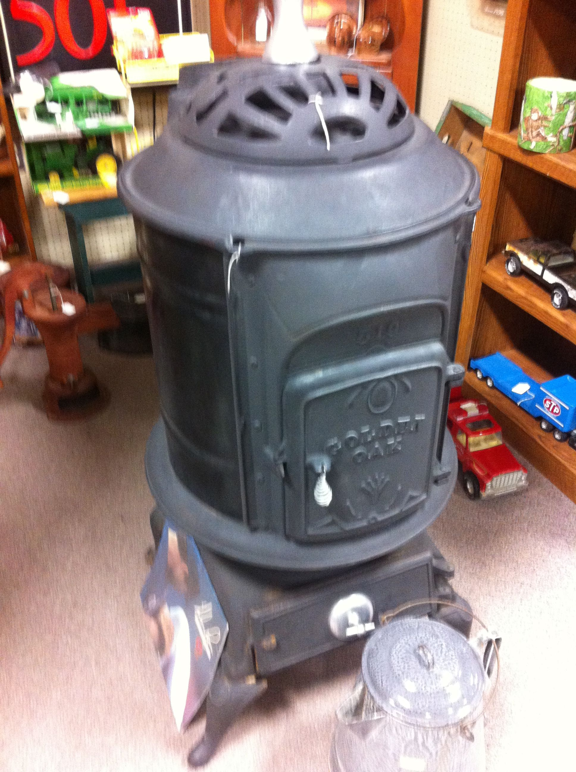Wood Stove At Jesse James Antique Mall From Dealer Mw