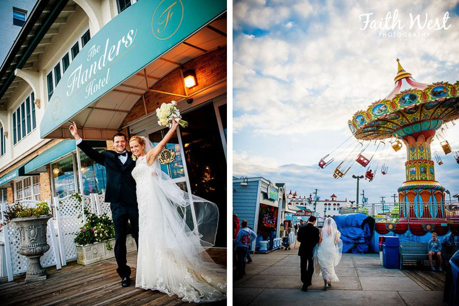 Ocean City New Jersey Weddings Flanders Hotel