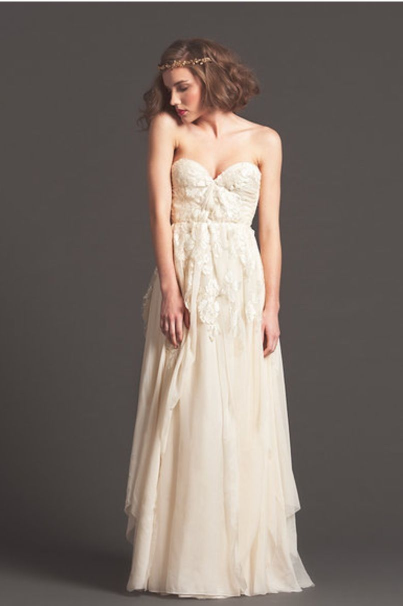 Gown dress for wedding party  Pin by Shamira PortLouis on Bridal  Pinterest