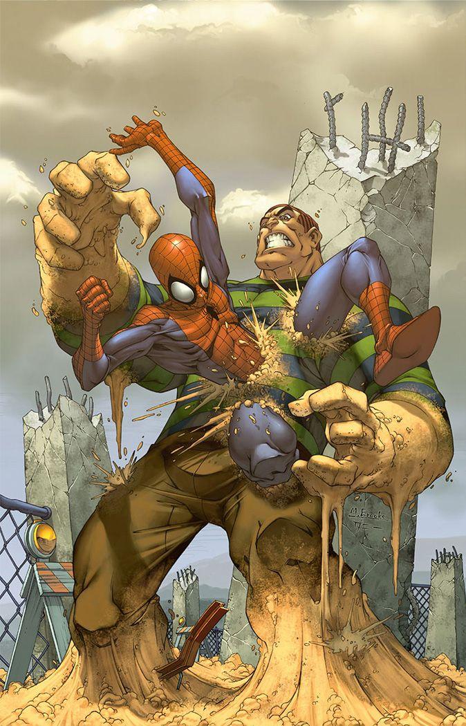 Spider-man cover- Sandman by `diablo2003 on deviantART ...
