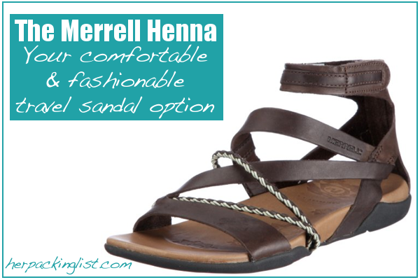The Merrell Henna Sandals Review Travel Shoes Travel