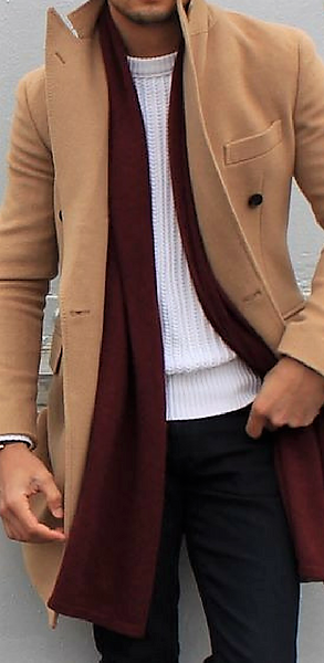 Why Every Guy Should Own A Camel Overcoat