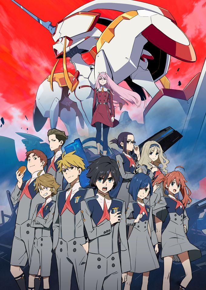 GALLERY TVアニメ「ダーリン・イン・ザ・フランキス」公式サイト 田中将賀, キャラクターデザイン, ダリフラ
