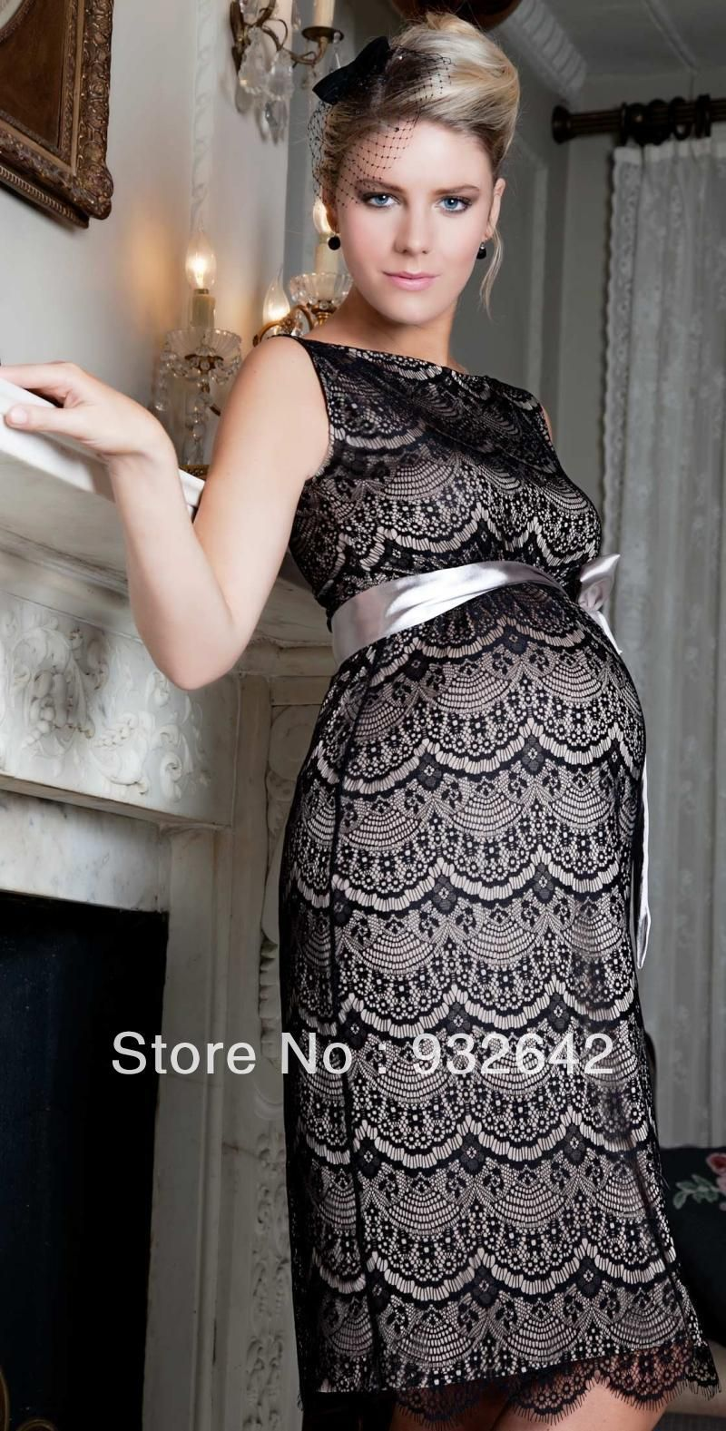 lace maternity formal dress | special occasion maternity