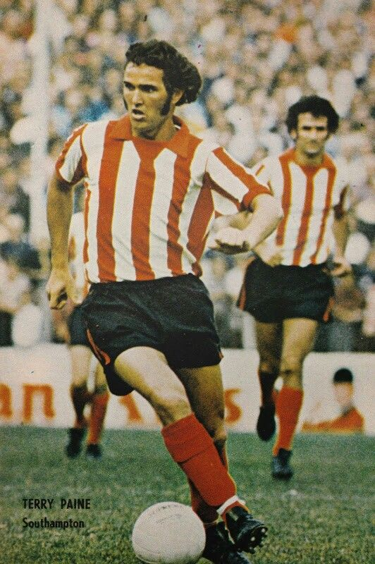 Terry Paine of Southampton in 1972.