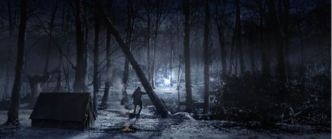 Harry Potter And The Silver Doe In The Forest Of Dean Harry Potter Artwork Concept Art Harry Potter